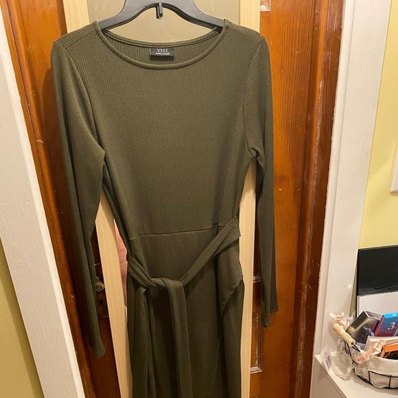 VICI XL maxi bodycon dress